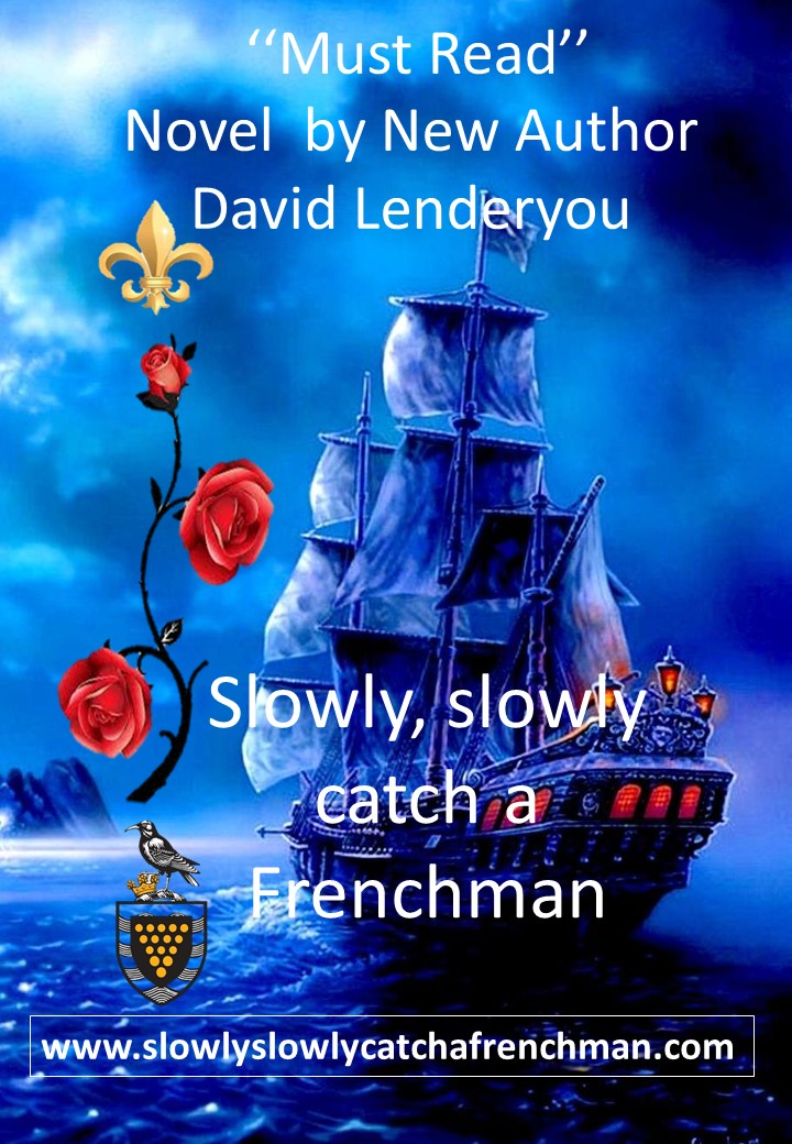 Slowly, slowly catch a Frenchman: New Local Author Book Signing