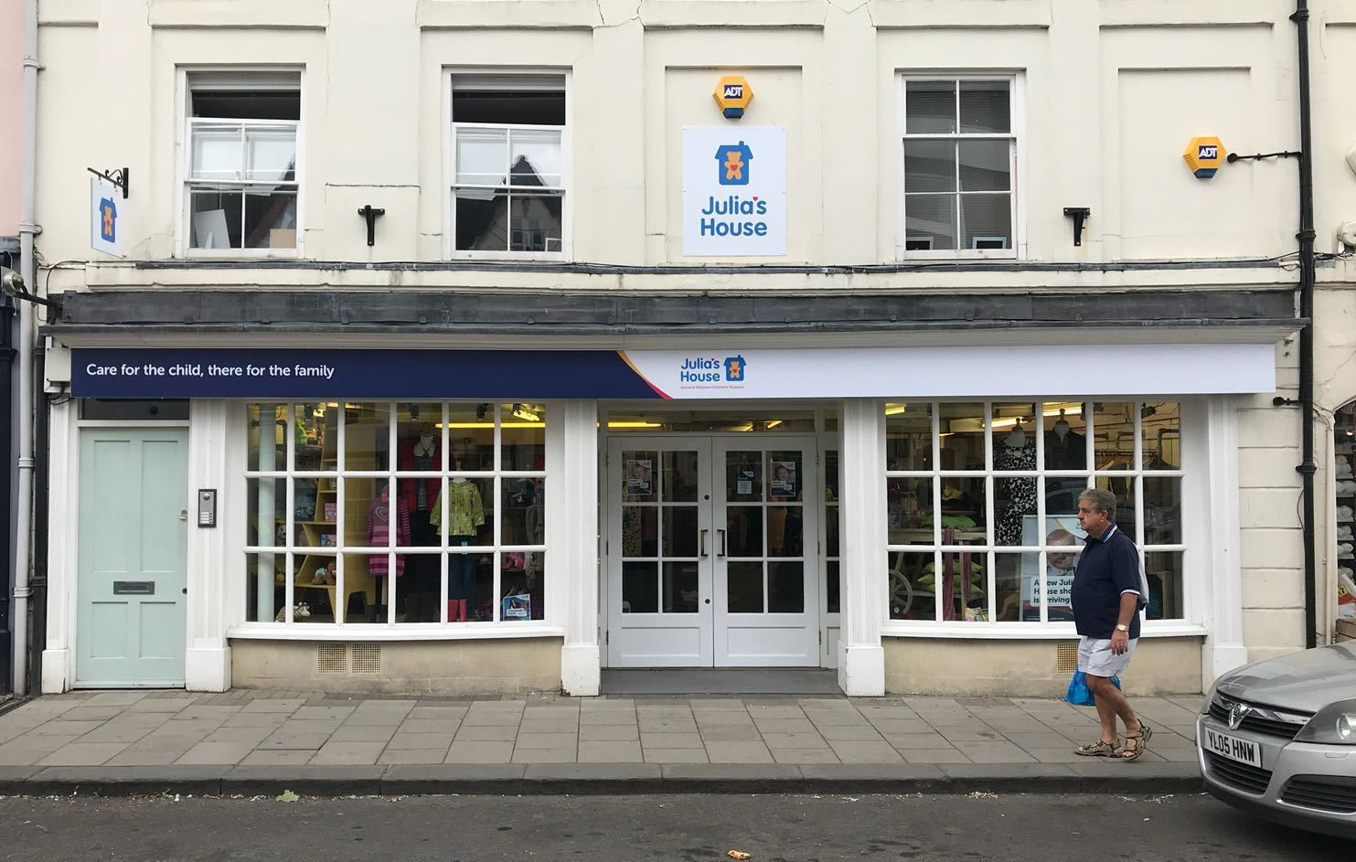 The new Julia's House charity shop