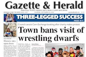 Wrestling dwarfs match cancelled in Devizes Read more stories like this here...