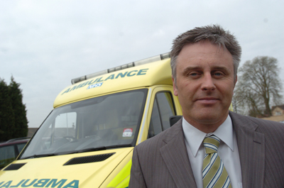 GWAS chief executive David Whiting  says anyone who attacks paramedics will face prosecution