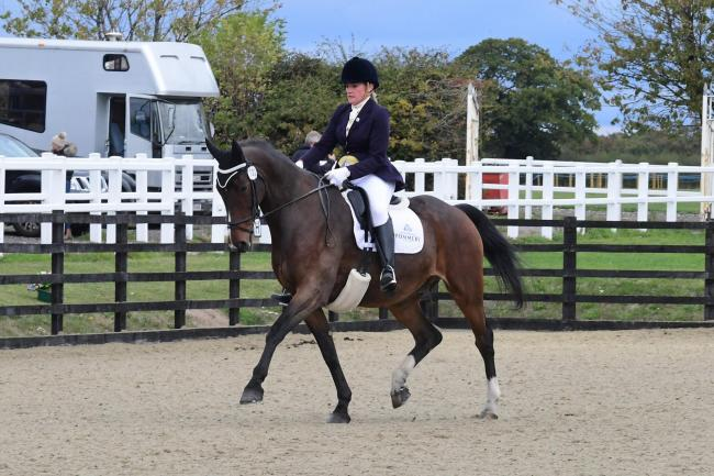 Laura Henton and The Fieldmaster. Picture: Kevin Sparrow