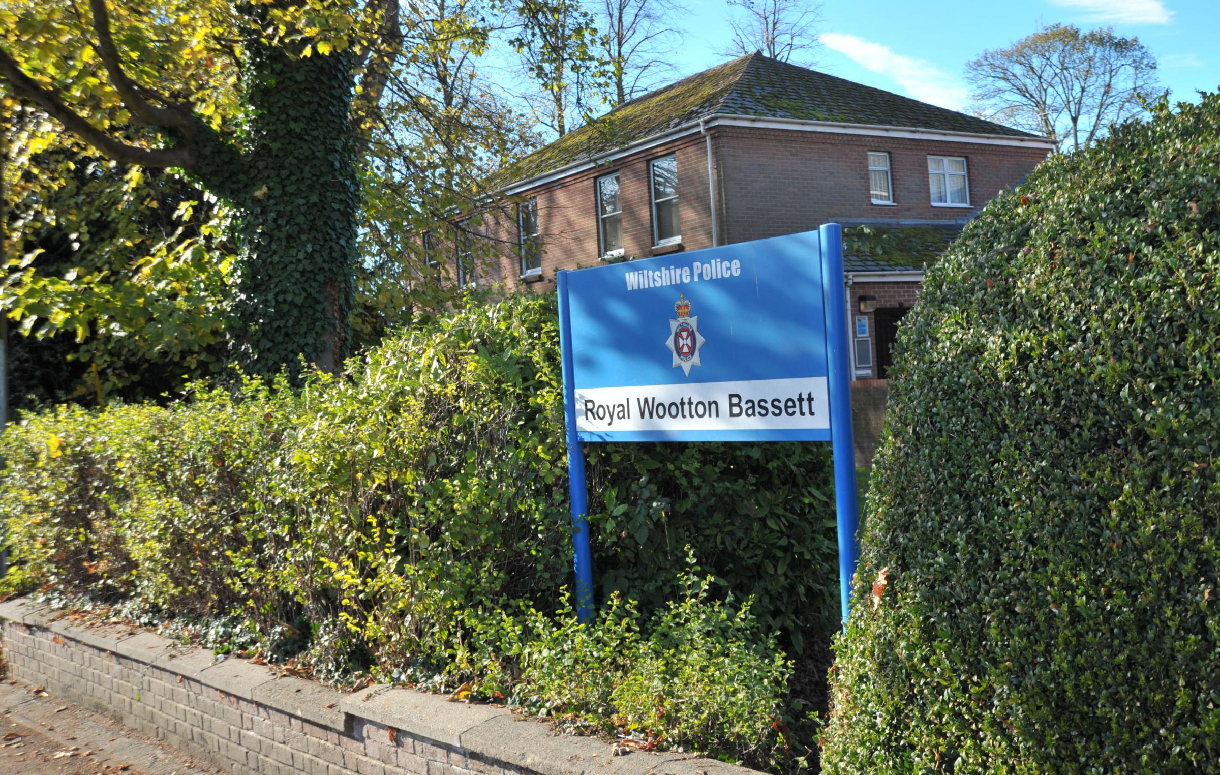 Royal Wootton Bassett police station to get £600.000 revamp. Picture by DAVE COX