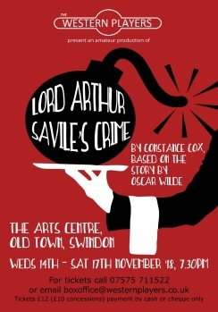 Lord Arthur Savile's Crime runs until Saturday