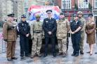 Strength in unity at the Armed Forces Day launch Photo: Spencer Mulholland