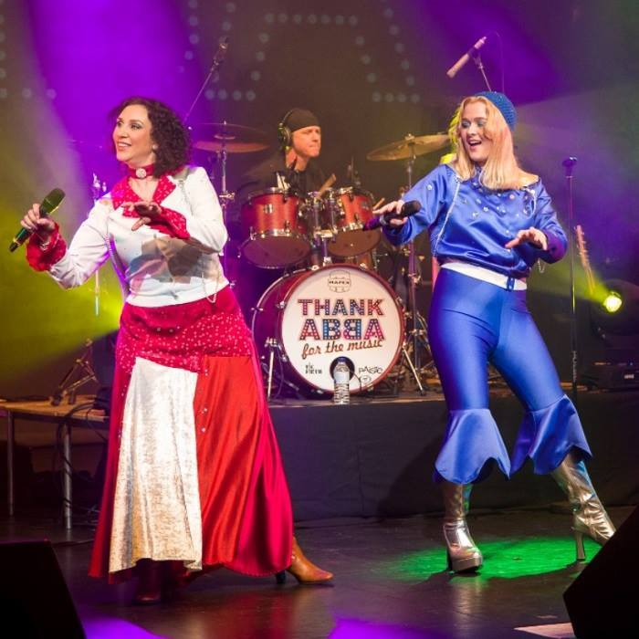 Thank ABBA for the Music returns to Rhyl next March. Picture: Facebook/ Thank ABBA for the Music