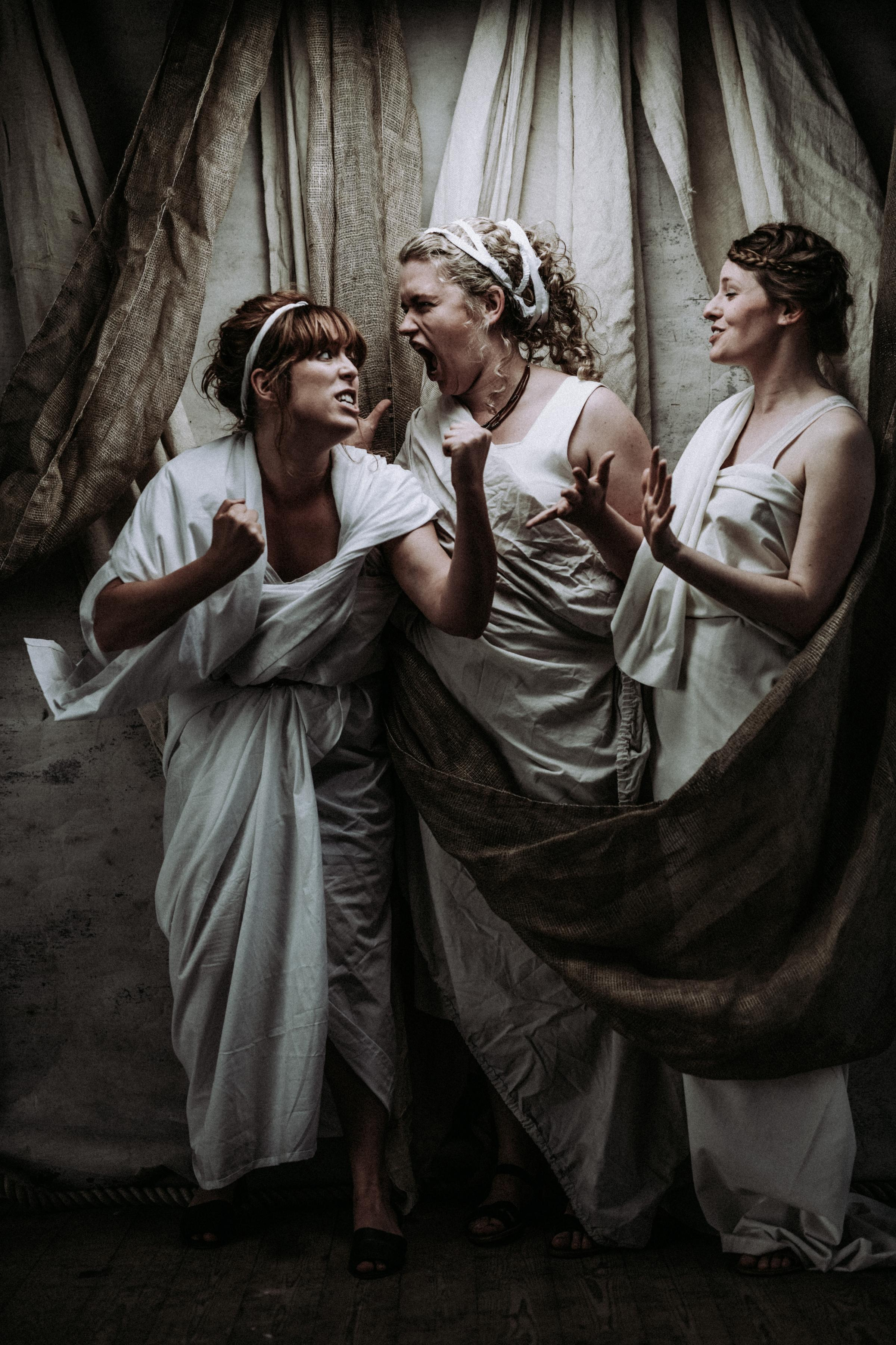 WOMANS (like Romans but with a 'W') by Scratchworks Theatre Company