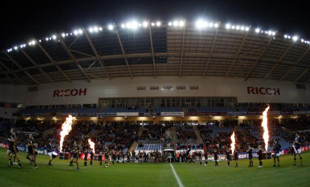 Wasps 'hosted' Munster at the Ricoh Arena