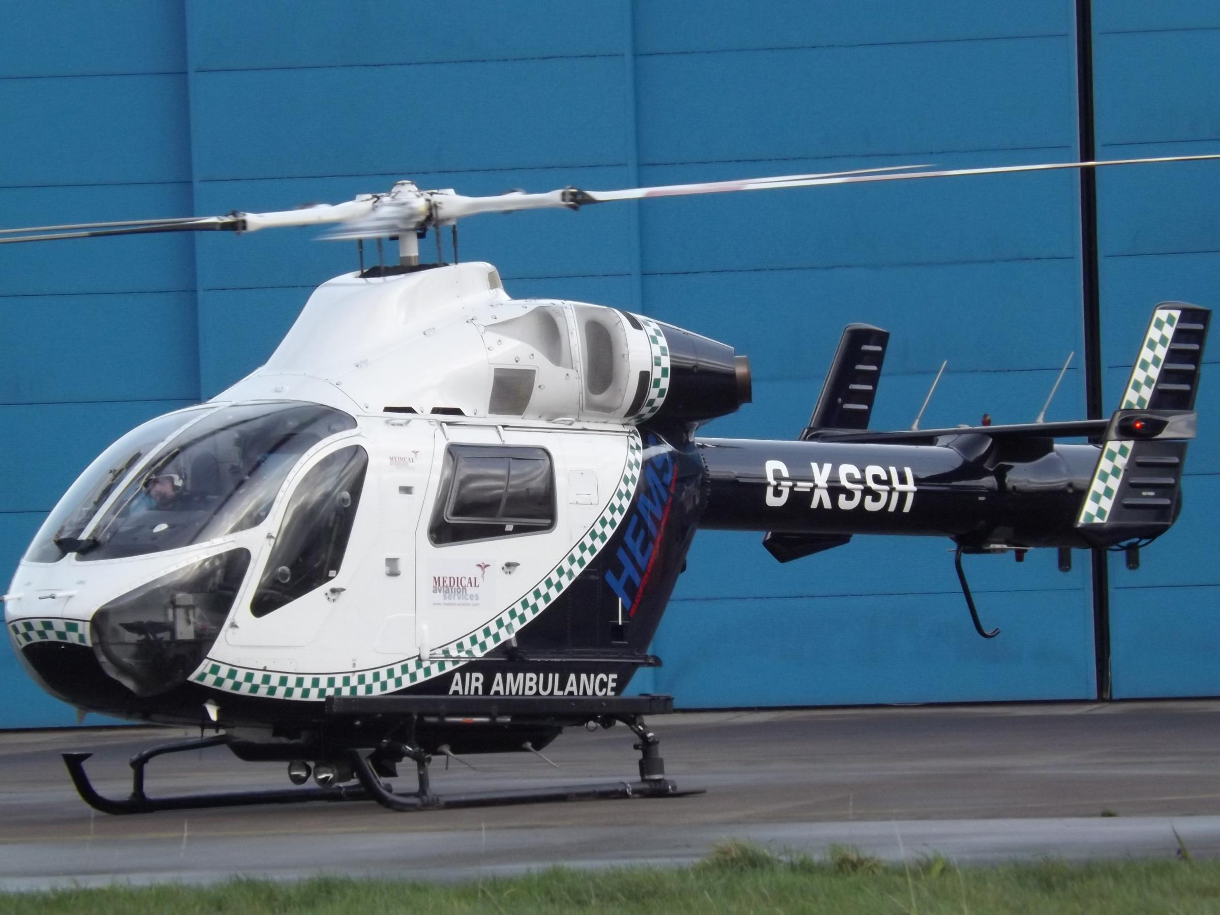 MD 902 replacement air ambulance