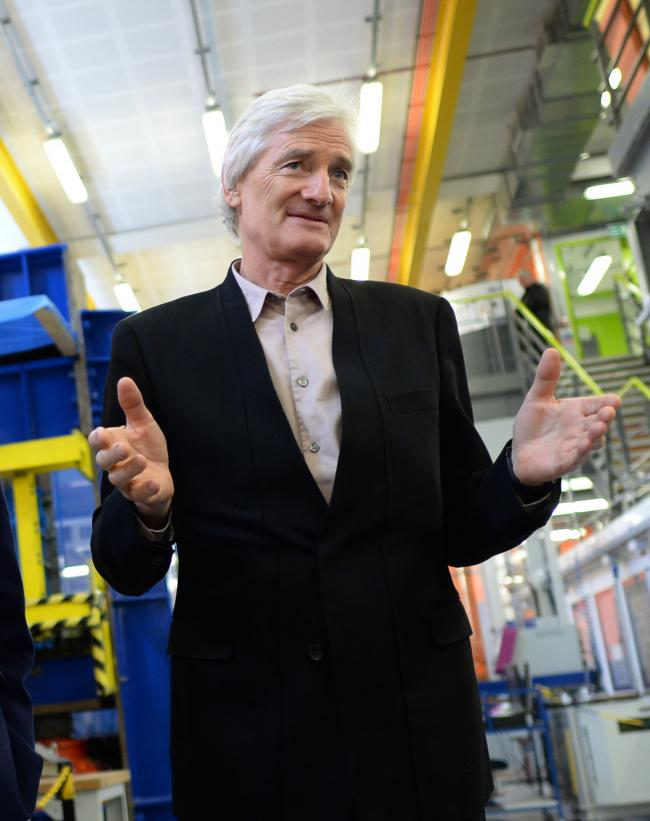 James Dyson is relocating his company headquarters to Singapore. PICTURE: Stefan Rousseau/PA Wire