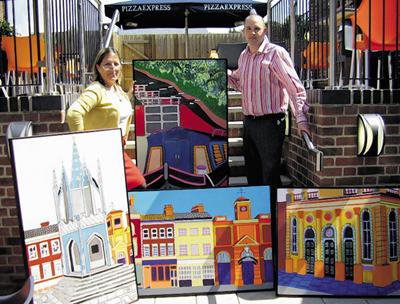 Pizza And A Slice Of Art In Devizes The Wiltshire Gazette