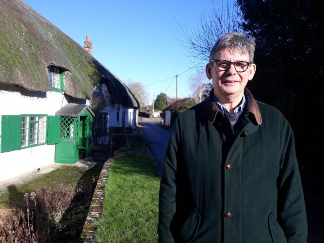 Charles Howell of Great Bedwyn parish council