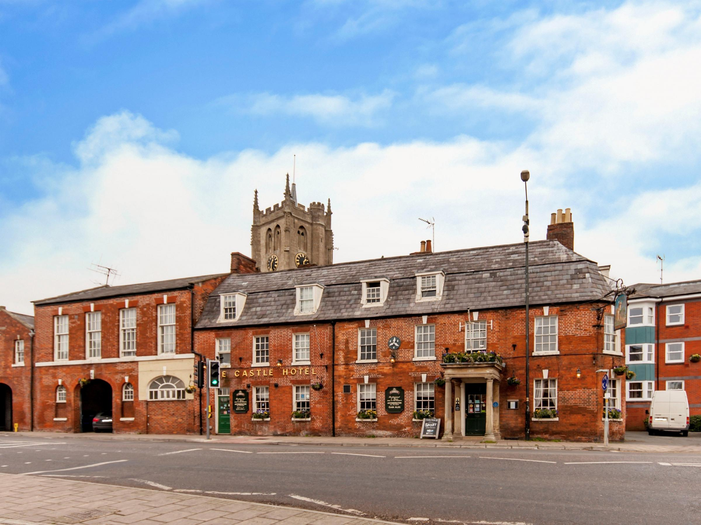 Castle Hotel, Devizes is up for sale