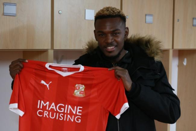 New Swindon Town signing Theo Robinson.                                                             PICTURE: STFC