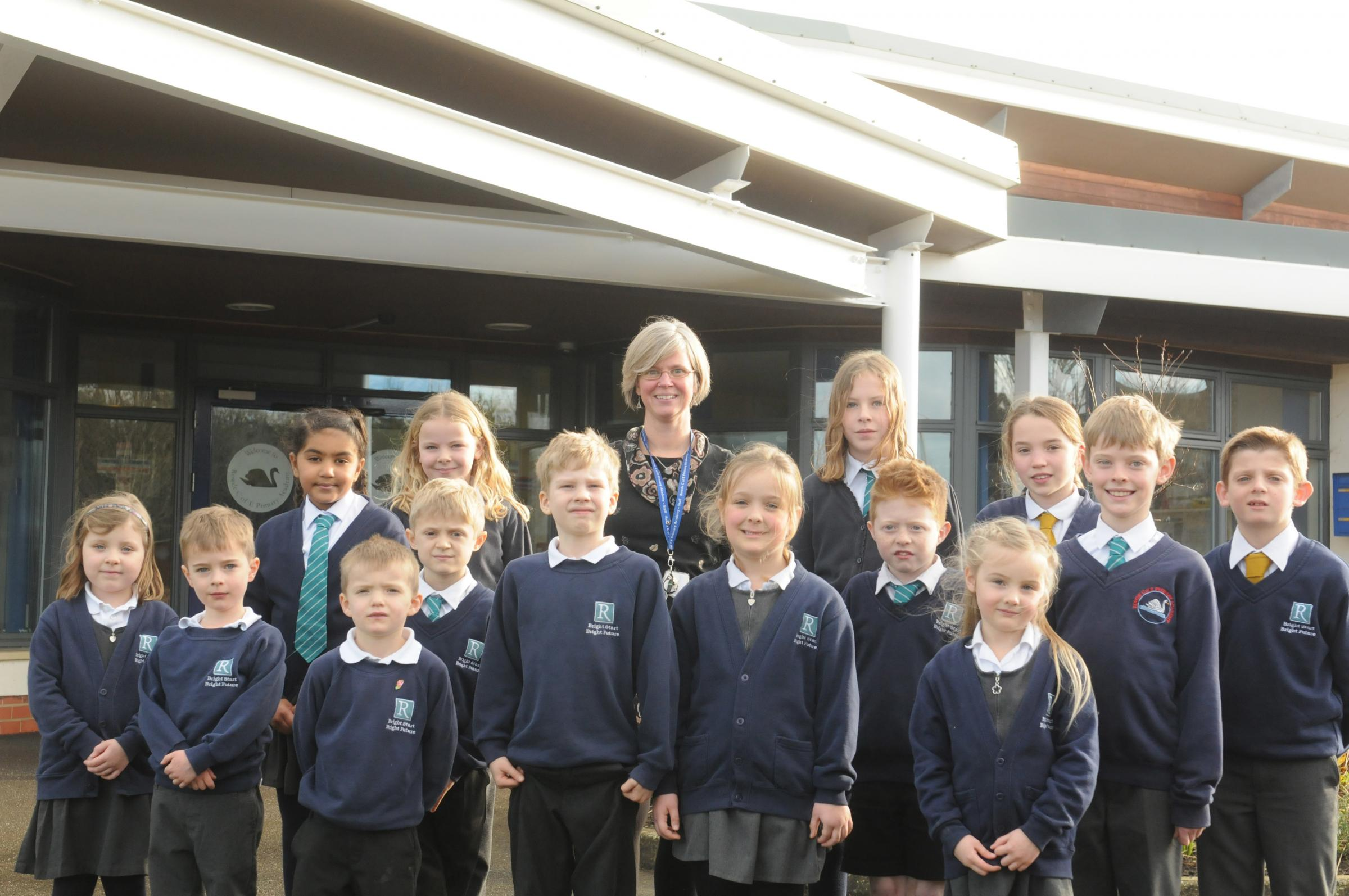 Sue Hulford is the new head teacher at Rowde CofE Academy. Photo: Siobhan Boyle SMB2643/1