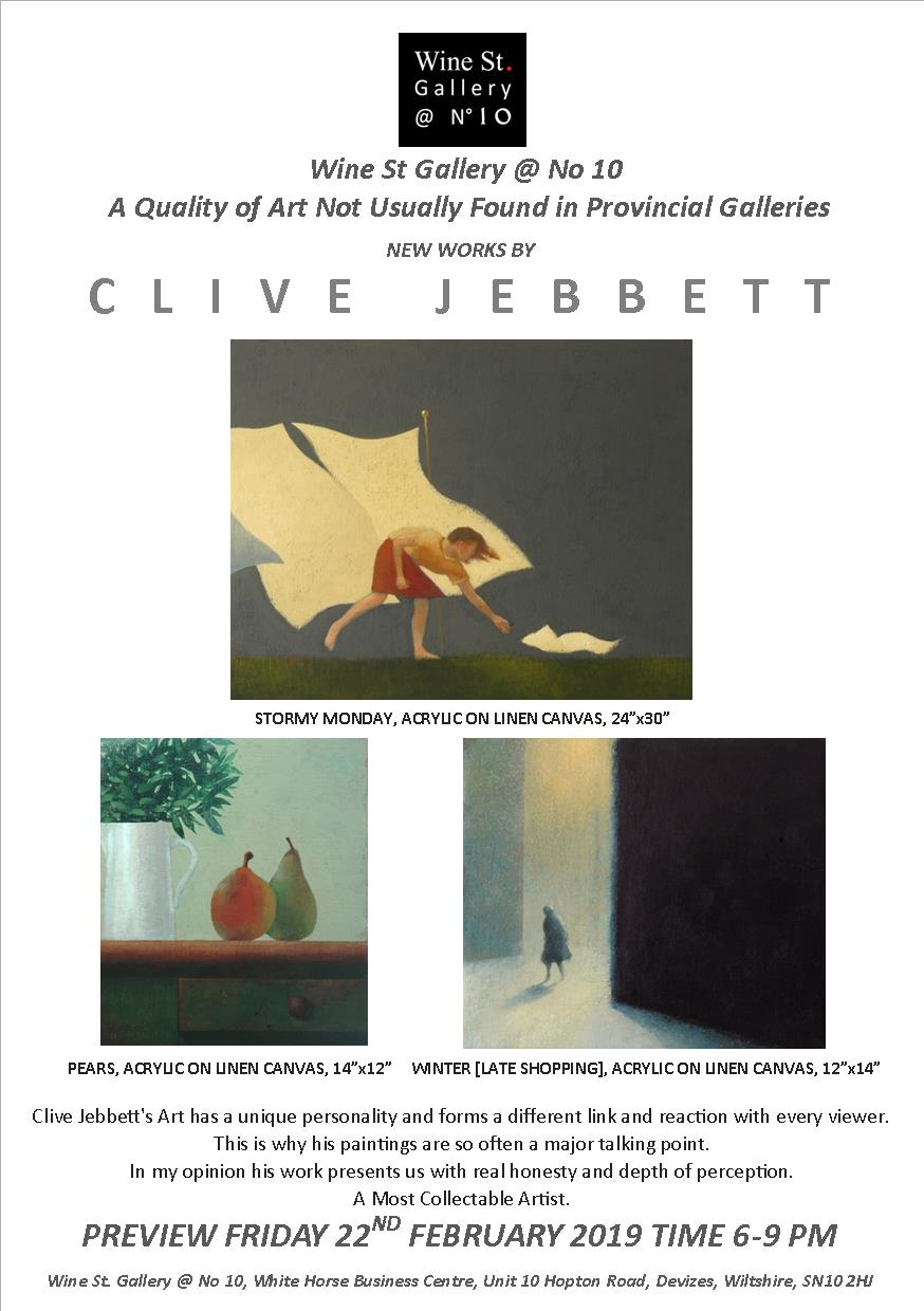 Clive Jebbett New Works