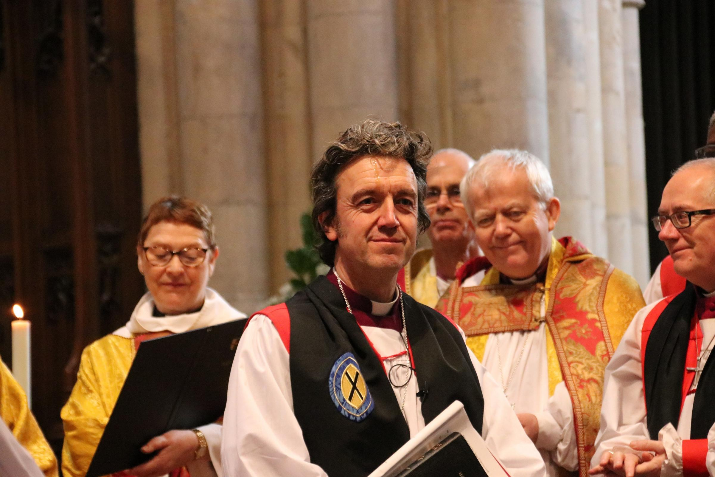 The Consecration of the Bishop of Ramsbury last month
