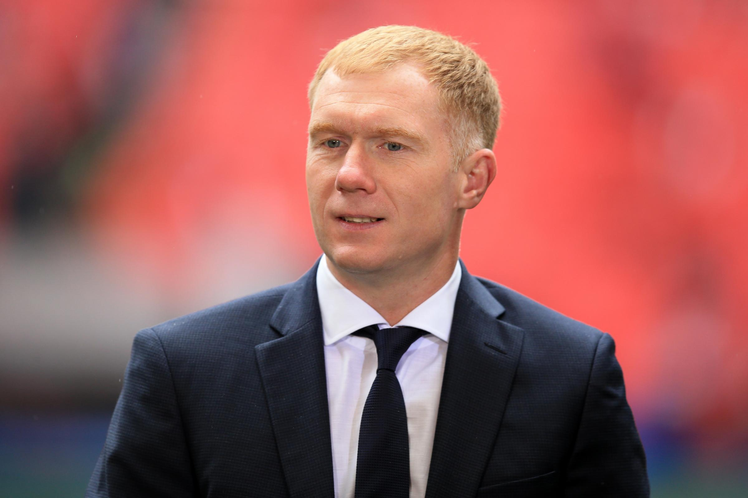 Paul Scholes is expected to be Oldham's new manager.