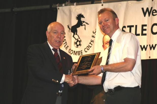Wiltshire FA's Mike Benson wit