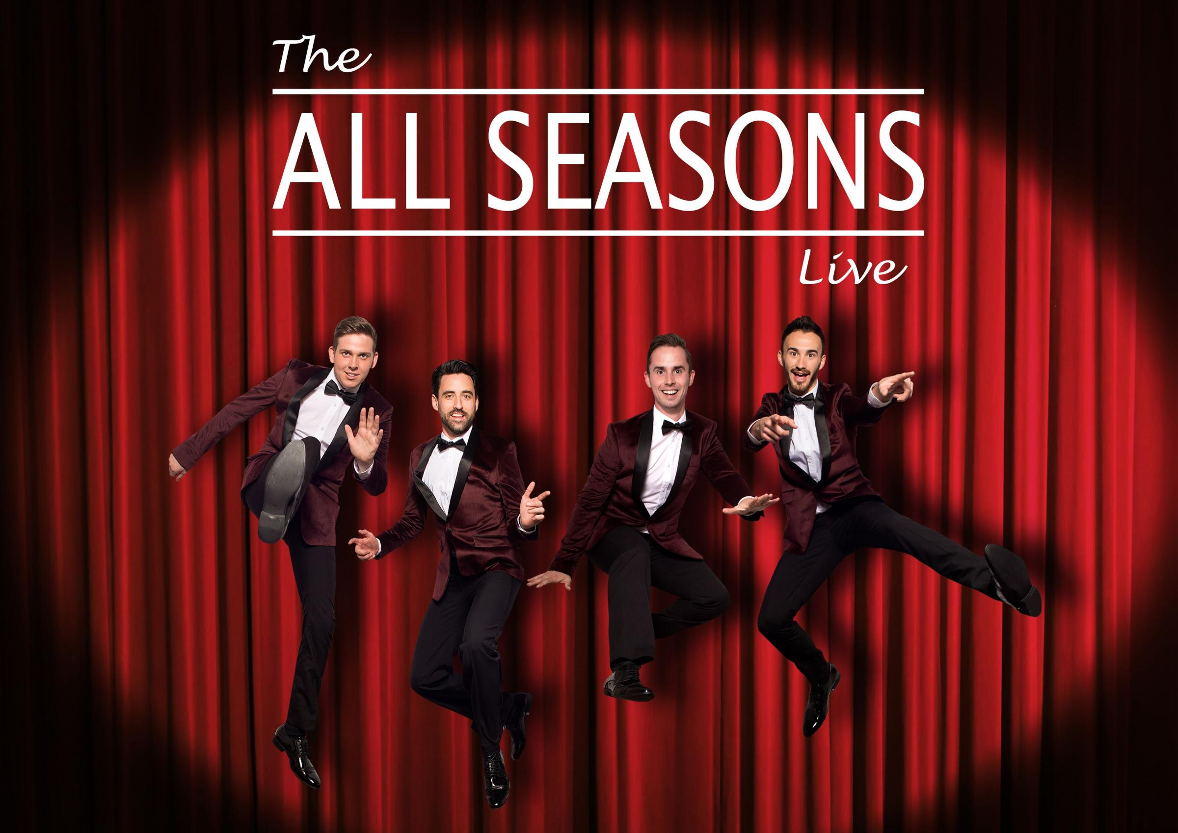 All seasons, Jersey Boys Tribute & Dinner