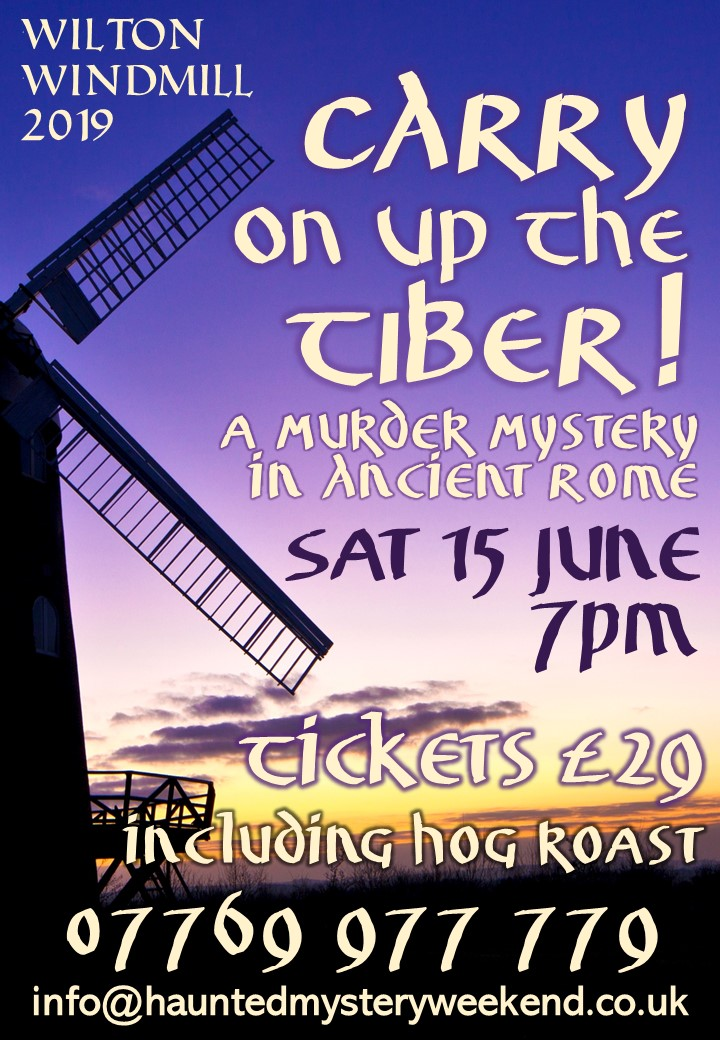 """Carry on up the Tiber!"": Murder Mystery & Hog Roast"