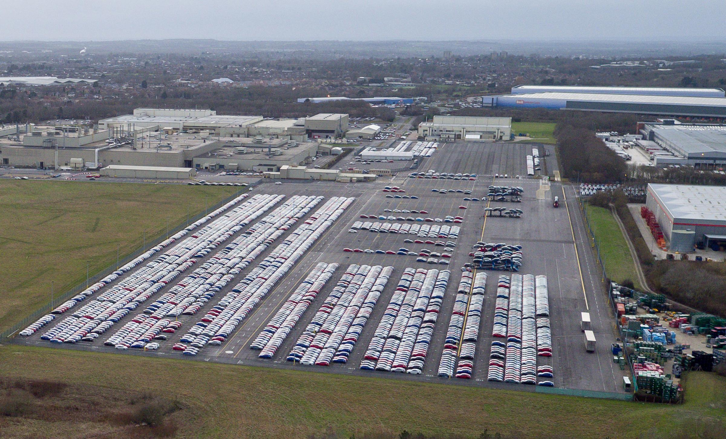 The Honda plant in Swindon, which the company has confirmed will close in 2021 with the loss of 3,500 jobs. PRESS ASSOCIATION Photo. Picture date: Tuesday February 19, 2019. See PA story INDUSTRY Honda. Photo credit should read: Ben Birchall/PA Wire.