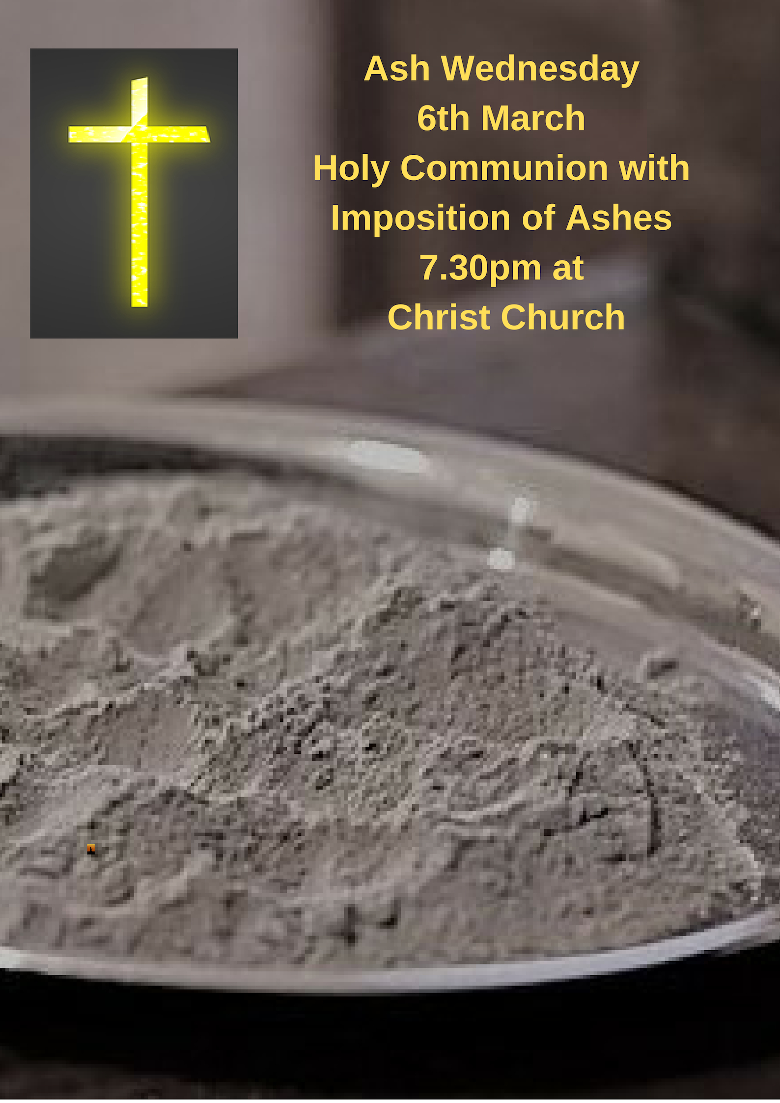 Ash Wednesday with Imposition of Ashes