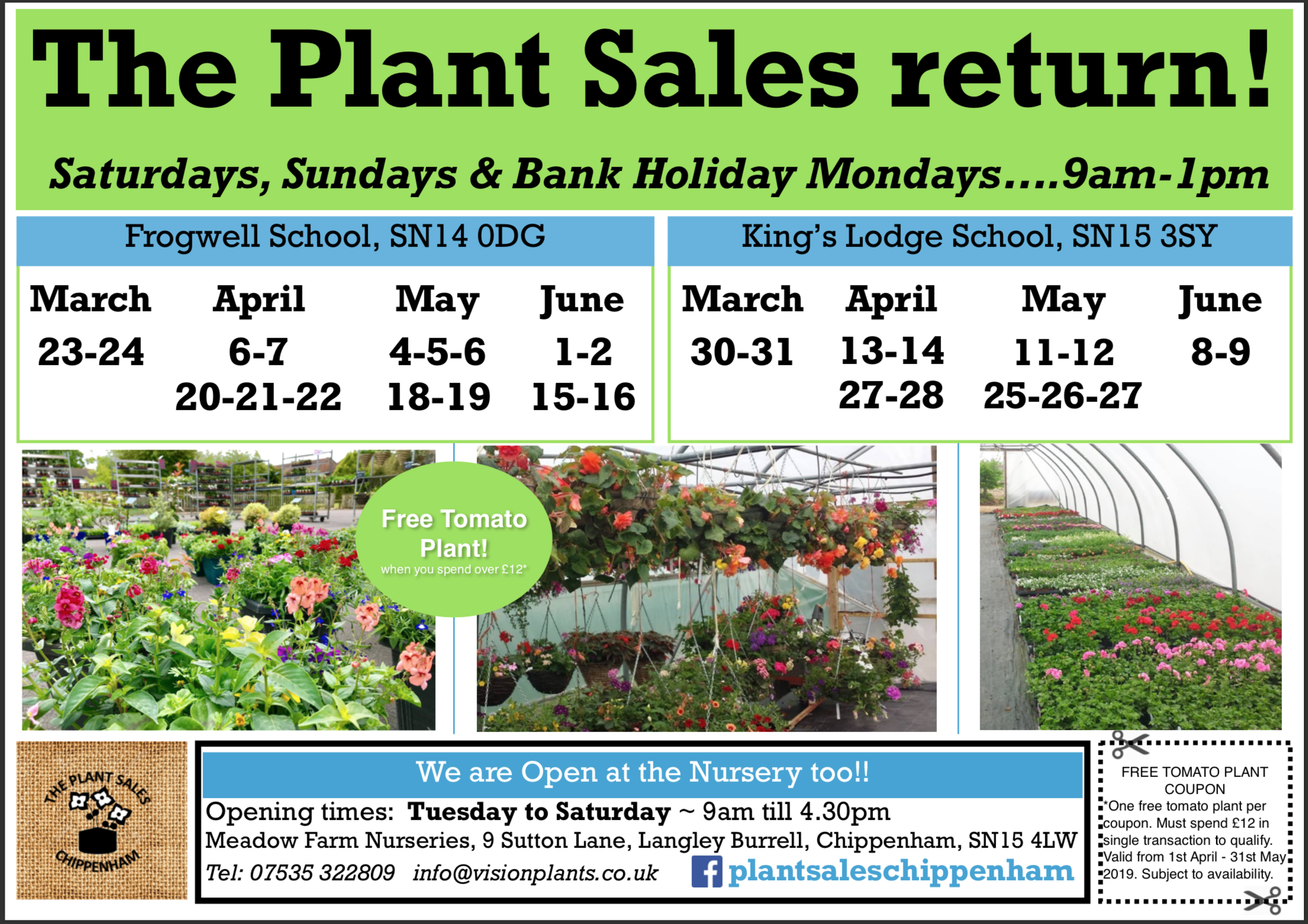 The Plant Sales Return!