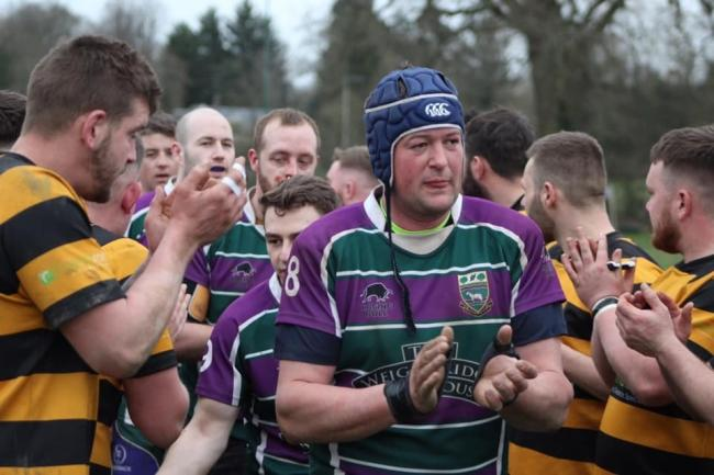 Andrew Hibbard scored Minety's sole try in their defeat to leaders Combe Down