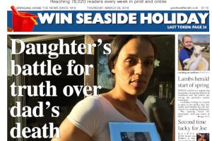 Devizes   woman fights for justice for her dad Read more stories like this here...