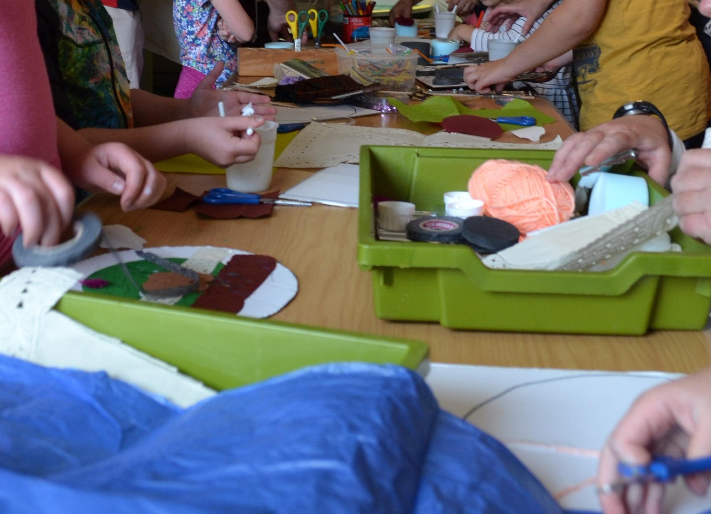 Make & Curate: Easter Family Workshops