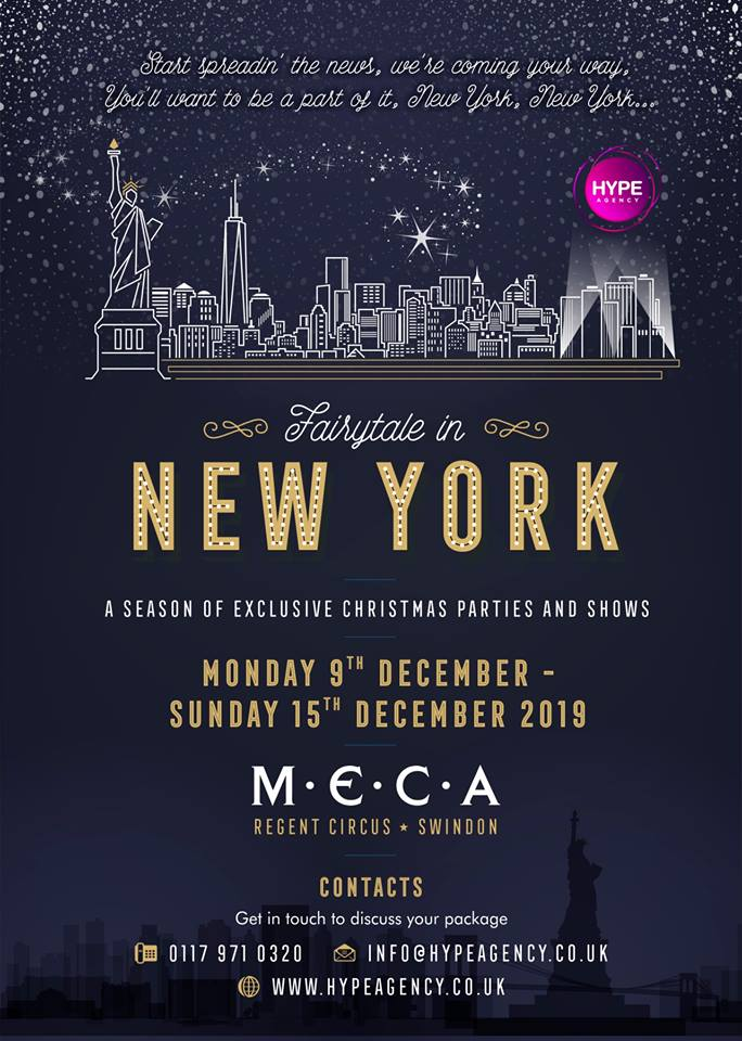 Fairytale in New York Christmas Parties
