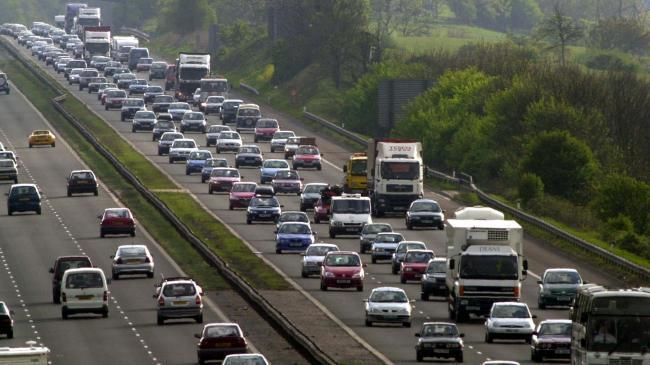 Expect heavy traffic on the M4 later today