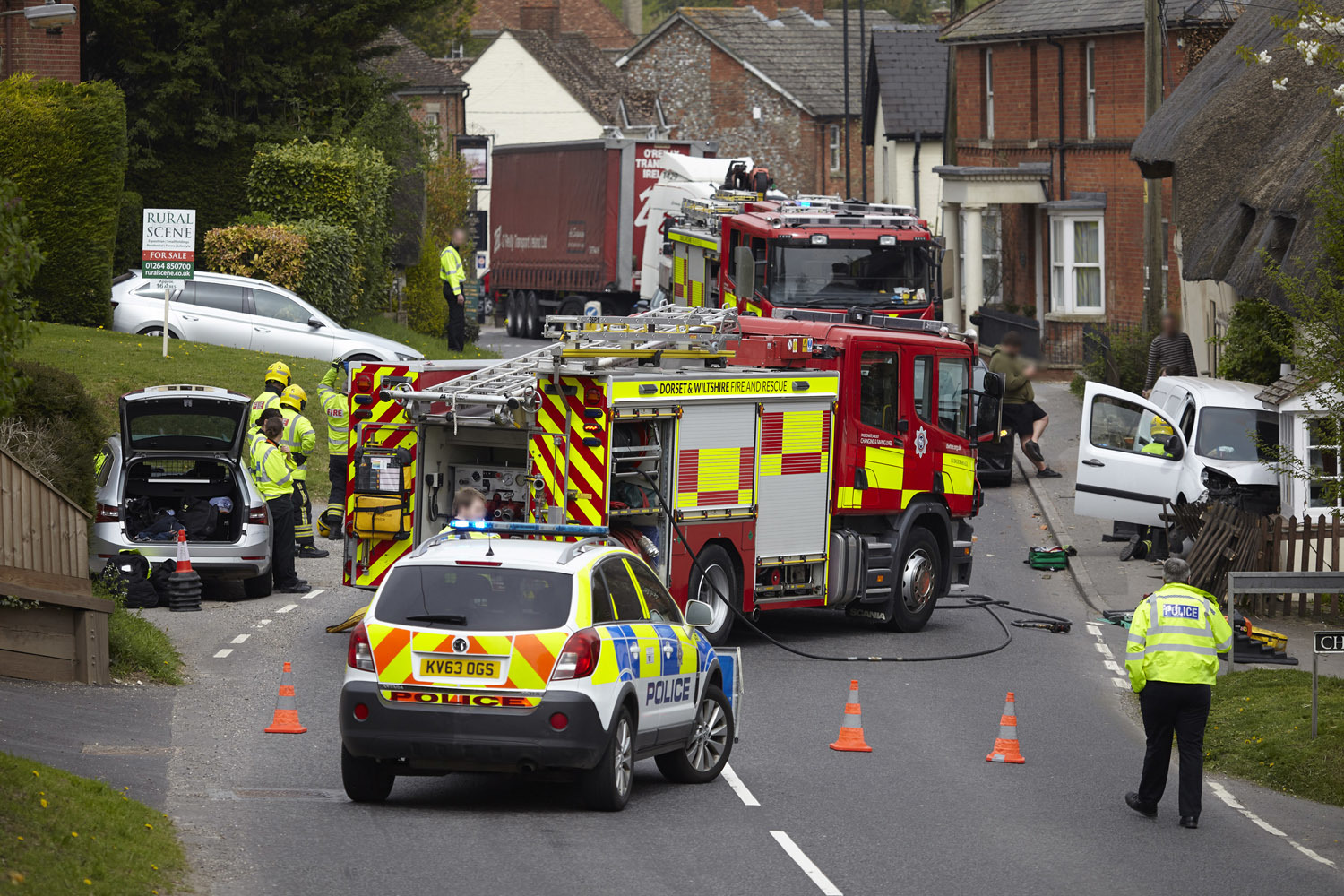 Collingbourne Kingston crash Pic: Paul Cordwell