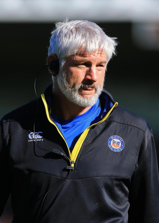 Bath Director of Rugby Todd Blackadder watches the warm up during the Gallagher Premiership match at Sandy Park, Exeter.