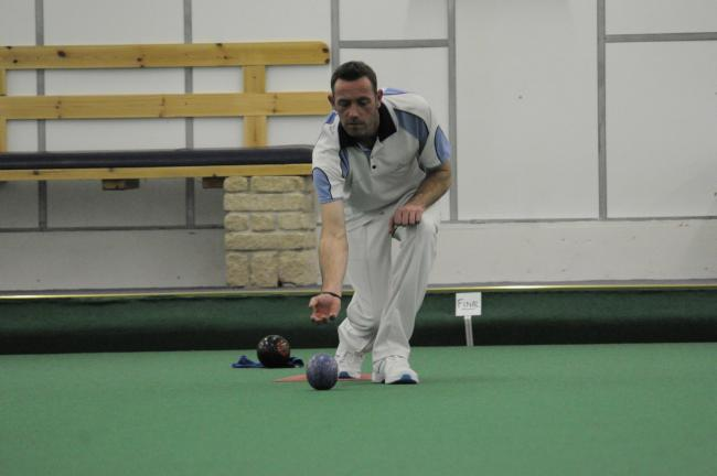 tp  48421 Planet Bowls Sunday.  Pic 3  Clarries  Graham Shadwell in the final  Pics Trevor Porter 48421  2nd Feb 14
