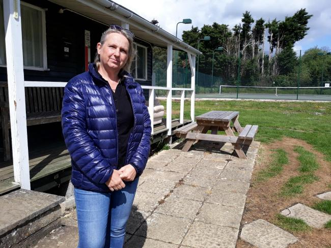 Jo Kitching of the tennis club in Malmesbury said they would be fitting CCTV to prevent future break-ins
