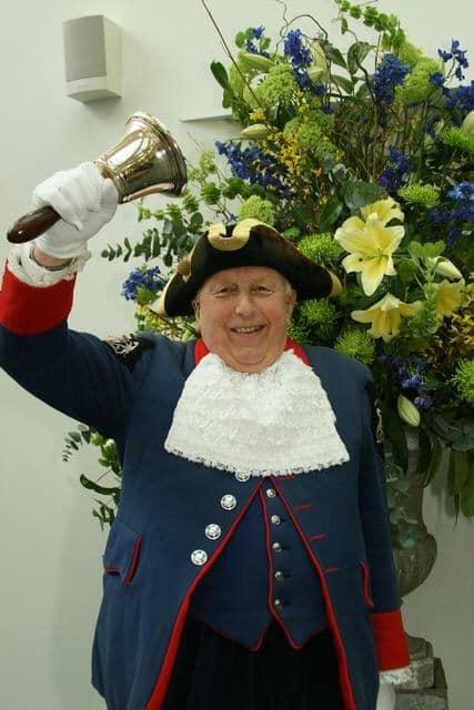 Alfie Johnson was Marlborough Town Crier for more than 20 years