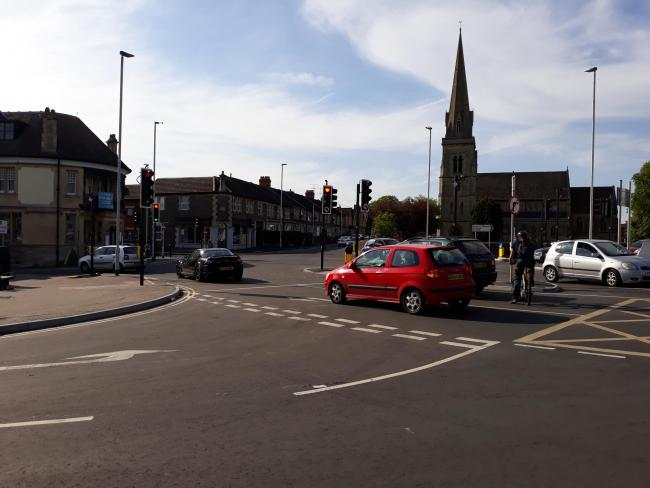 There has been problems with traffic congestion at the top of New Road