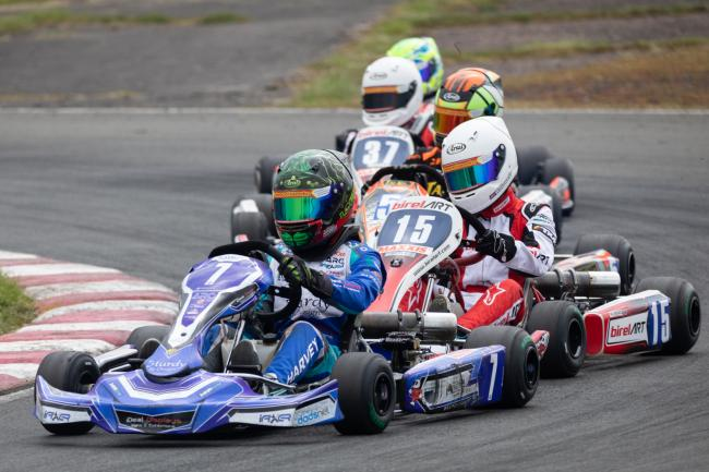 Louis Harvey in action at Rissington. PICTURE: DAVID MITCHELL