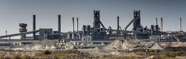 The plant at Scunthorpe. PIC: British steel