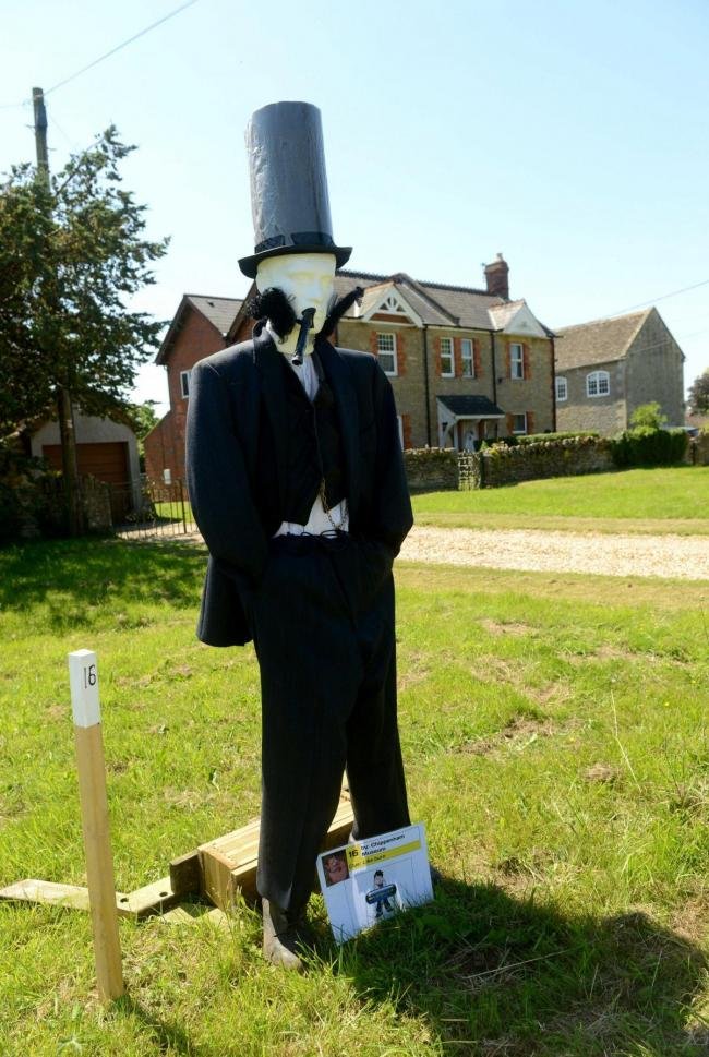 An entry in last year's Kington Langley Scarecrow Festival