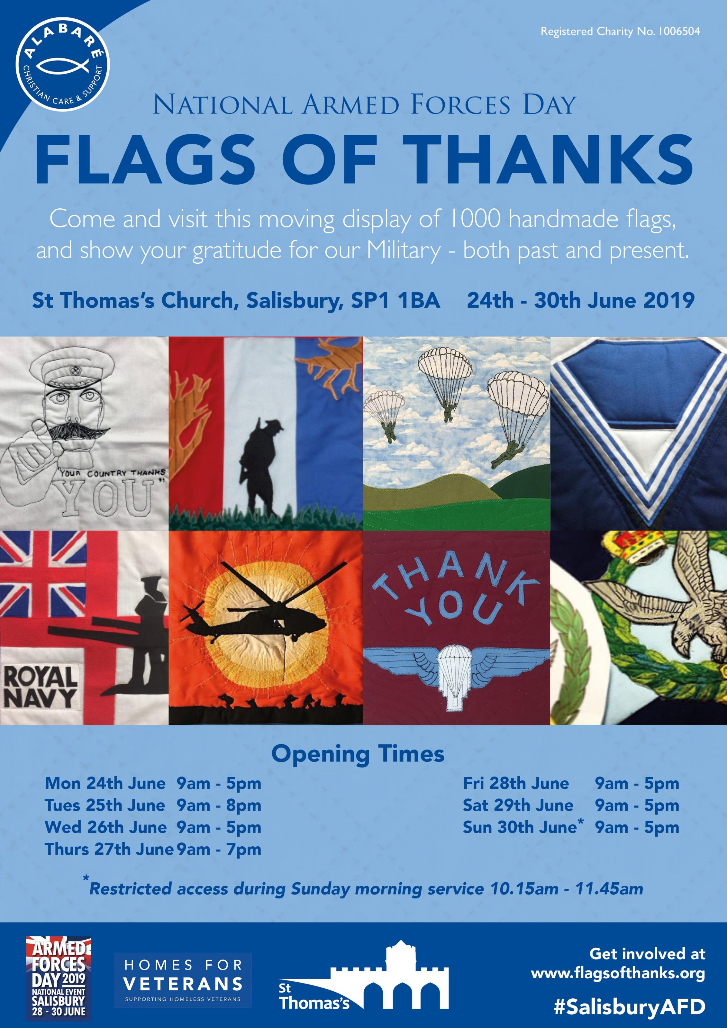 Flags of Thanks